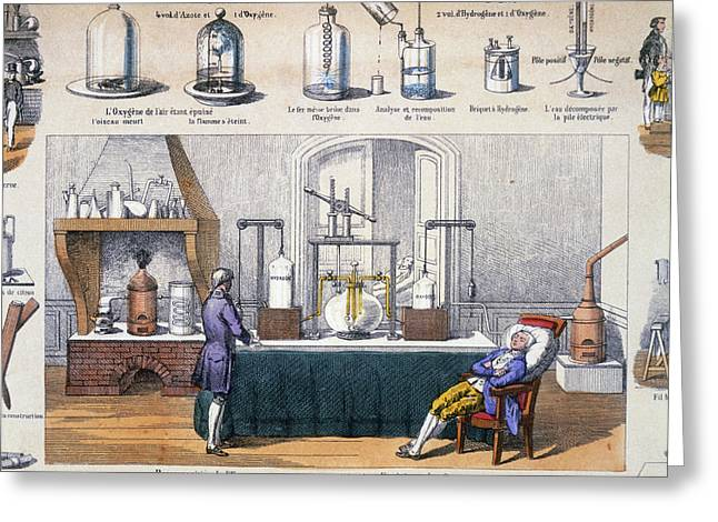 Fludd Greeting Cards - Illustration Of Thermoscope Greeting Card by Dr Jeremy Burgess