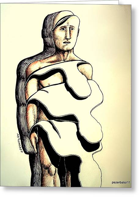 I Do Not Know Greeting Cards - Im Not The Same Every Minute That Passes Greeting Card by Paulo Zerbato