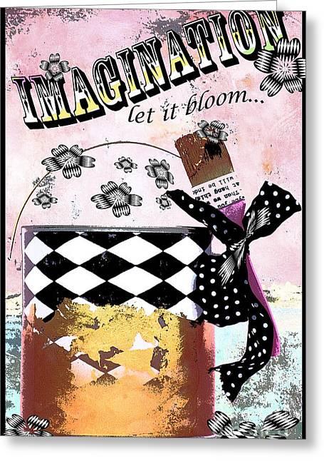 Imagination Greeting Card by Anahi DeCanio