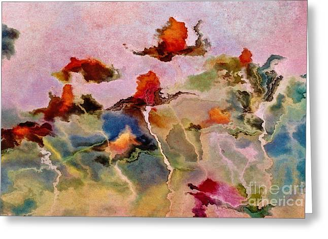 Imagine - f0104bt03f Greeting Card by Variance Collections