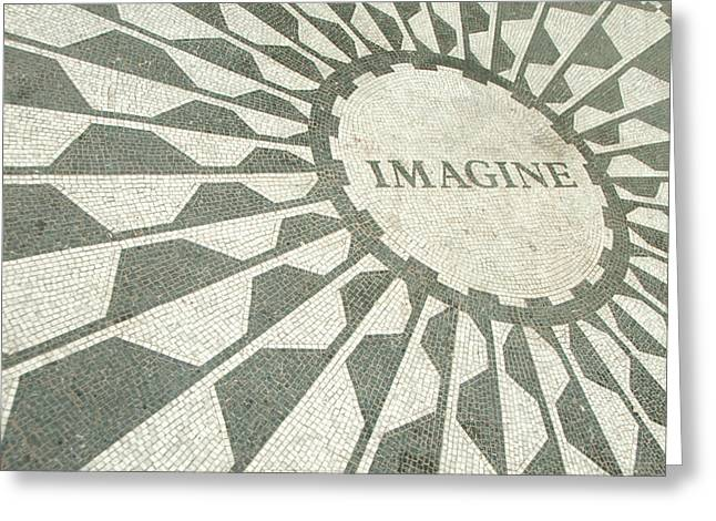 In Focus Greeting Cards - Imagine Greeting Card by John Kain