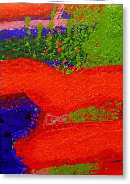 Celebration Art Print Greeting Cards - Imma   Ii Greeting Card by John  Nolan