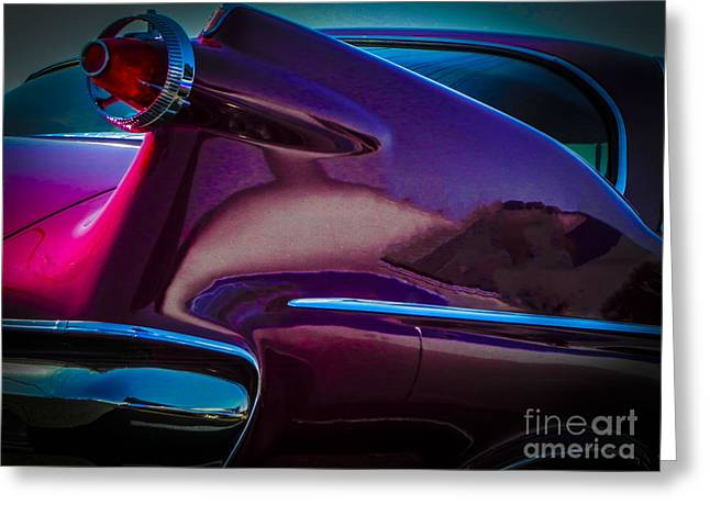 Tricked-out Cars Greeting Cards - Imperial Greeting Card by Chuck Re