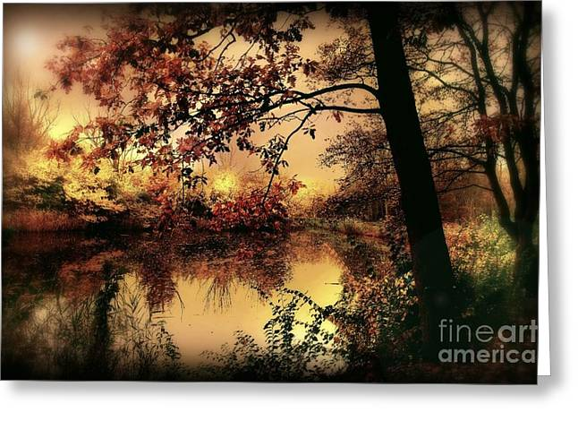 Forrests Greeting Cards - In Dreams Greeting Card by Photodream Art