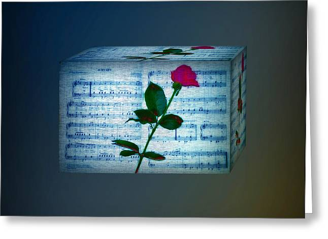 In My Life Cubed Greeting Card by Bill Cannon