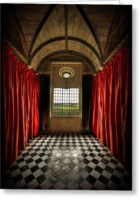 Castle Room Greeting Cards - In The Depth Of My Soul Greeting Card by Evelina Kremsdorf