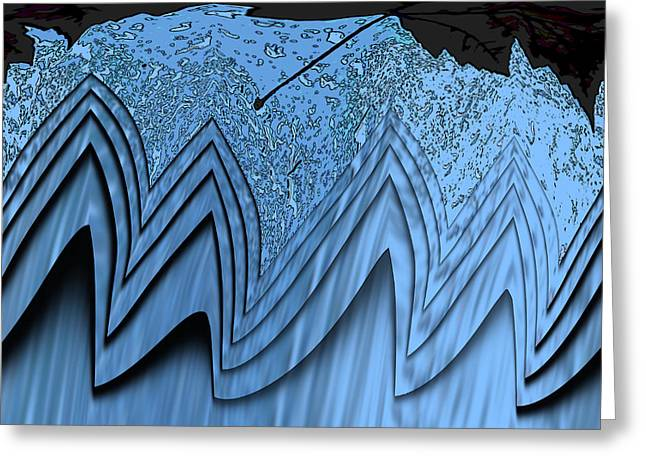 Devastation Greeting Cards - In The Eye Of The Storm 3 Greeting Card by Tim Allen