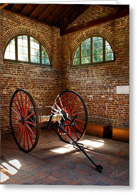 Harpers Ferry Greeting Cards - In the Firehouse Greeting Card by Judi Quelland