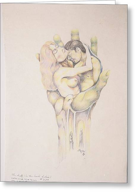 I Do Not Know Greeting Cards - In the hands of God Greeting Card by Christopher Miles