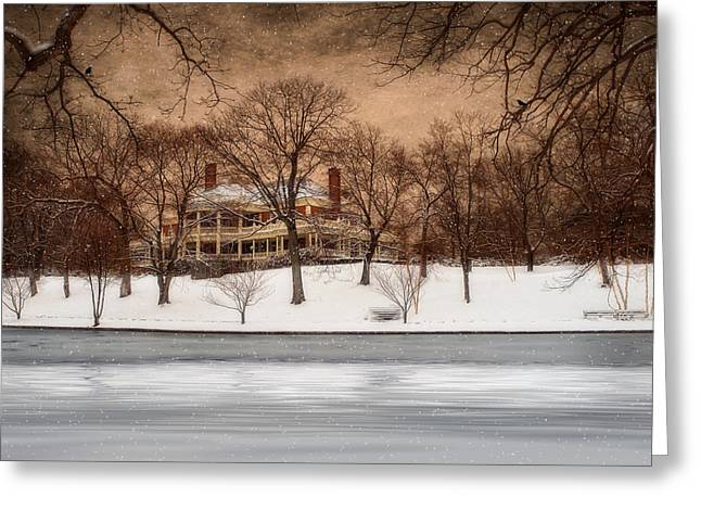 In The Midst Of Winter Greeting Card by Robin-lee Vieira