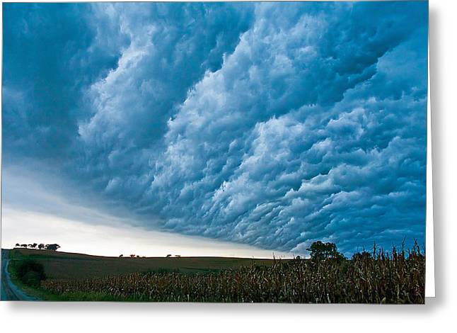 Supercell Greeting Cards - In The Whales Mouth Greeting Card by Chris  Allington