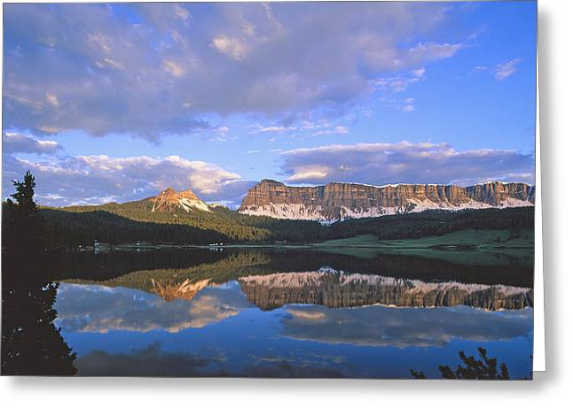 Brookes Greeting Cards - In the Wind River range. Greeting Card by Robert Ponzoni