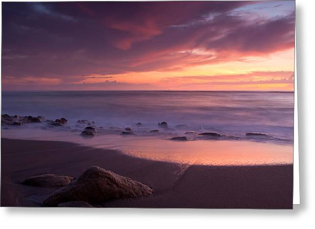 Carlin Greeting Cards - Incoming Tide Greeting Card by Larry Hughes