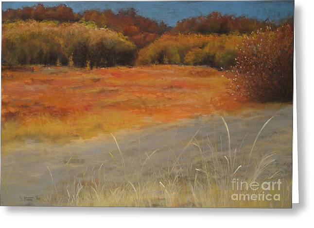 Best Sellers -  - Beauty Pastels Greeting Cards - Indian Summer Greeting Card by Sabina Haas