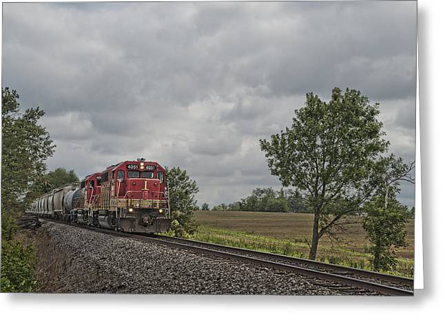 Indiana Photography Greeting Cards - Indiana Southern 4051 at Mackey Indiana Greeting Card by Jim Pearson
