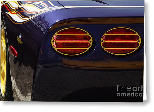 Indy Pace Car Greeting Card by Dennis Hedberg