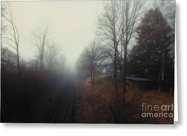 Winter Photos Greeting Cards - Infinity Greeting Card by Jutta Maria Pusl