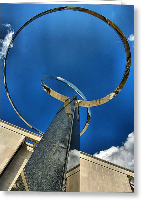 Installation Art Greeting Cards - Infinity Take One Greeting Card by Steven Ainsworth