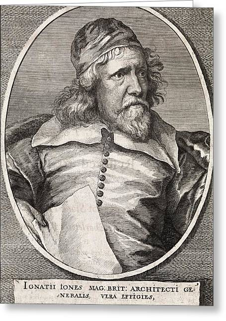 Banquet Greeting Cards - Inigo Jones, British Architect Greeting Card by Middle Temple Library