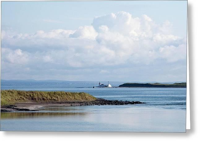 Inis Mor Greeting Cards - Inis Mor Coast Greeting Card by John Burnett