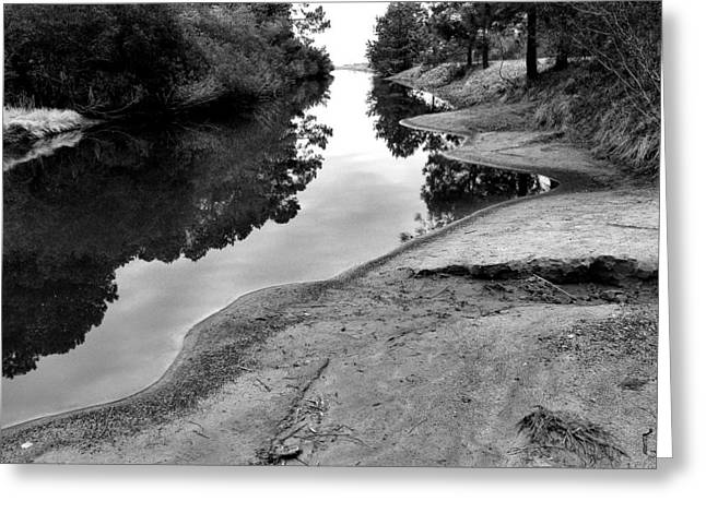 Creek Framed Prints Greeting Cards - Inlet Channel At Toms Cove I Greeting Card by Steven Ainsworth
