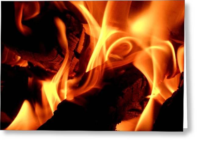Mark Lehar Greeting Cards - Inner Fire Greeting Card by Mark Lehar