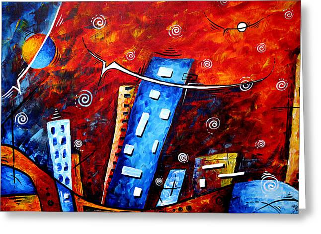 Licensor Greeting Cards - Inner Sanctuary by MADART Greeting Card by Megan Duncanson