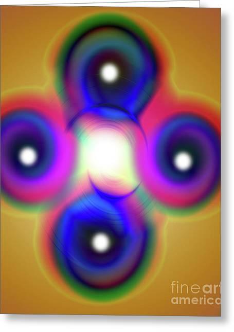 Inner Self Greeting Cards - Inner Self Greeting Card by Rajendra Mongia