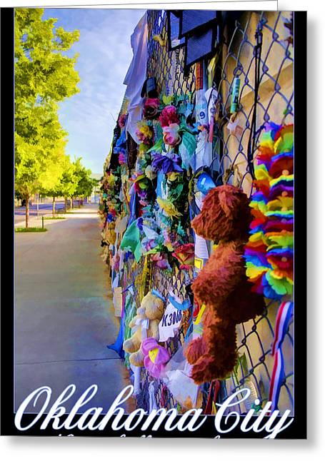 Rememberance Greeting Cards - Innocence Lost Greeting Card by Ricky Barnard