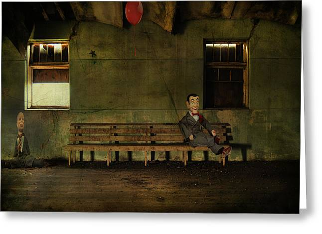 Wallflower Greeting Cards - Insecurity Of A Wallflower  Greeting Card by Jerry Cordeiro