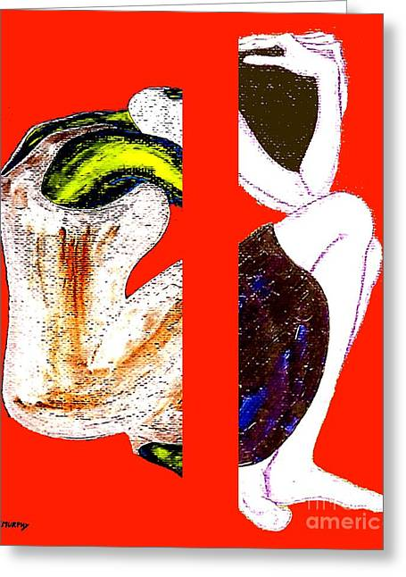 Breakup Greeting Cards - Inside The Heart Greeting Card by Patrick J Murphy