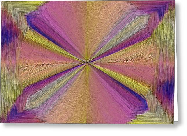 Inside The Rainbow Greeting Card by Tim Allen