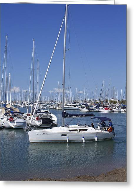 Masts Greeting Cards - Inspiration Greeting Card by Michael Clarke JP