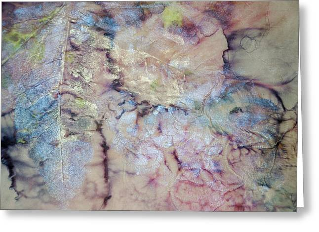 Mental Process Mixed Media Greeting Cards - Intaglio Greeting Card by Don  Wright