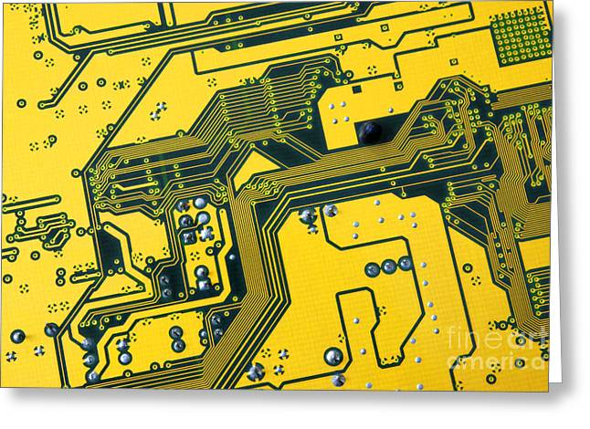 Integrated circuit Greeting Card by Carlos Caetano