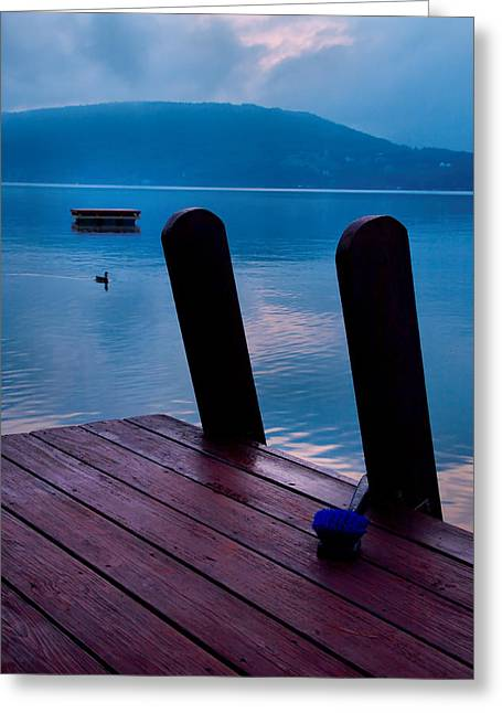 Keuka Lake Greeting Cards - Interlude II Greeting Card by Steven Ainsworth