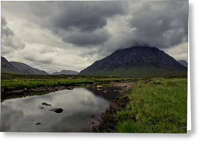 Glen Coe Greeting Cards - Into Scotland Greeting Card by Justin Albrecht