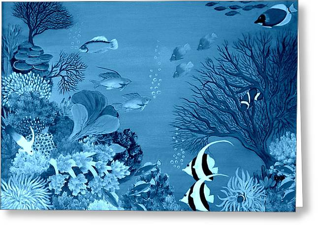 Into The Blue Yonder Greeting Card by Fram Cama
