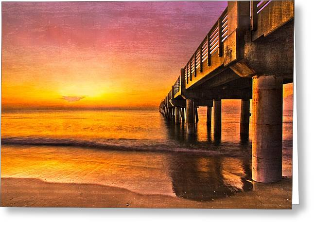 Into The Light Greeting Card by Debra and Dave Vanderlaan