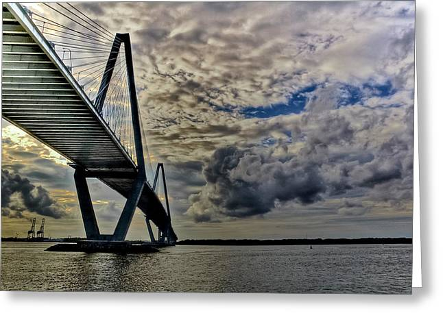 Ravenel Greeting Cards - Into the Storm Greeting Card by Drew Castelhano