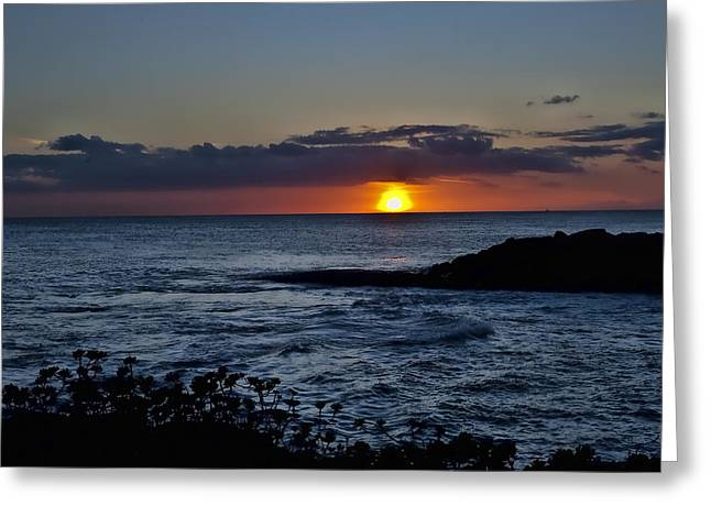 Ko Olina Lagoon Greeting Cards - Into the water Greeting Card by Sheri Bartoszek