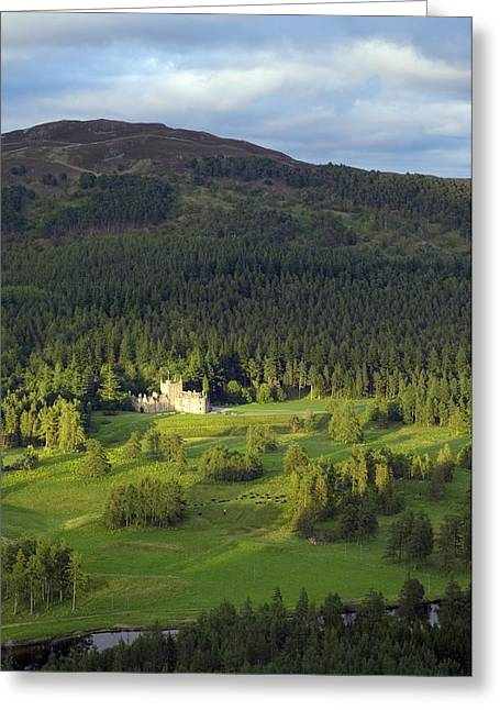 River Dee Greeting Cards - Invercauld House, Scotland, Uk Greeting Card by Duncan Shaw