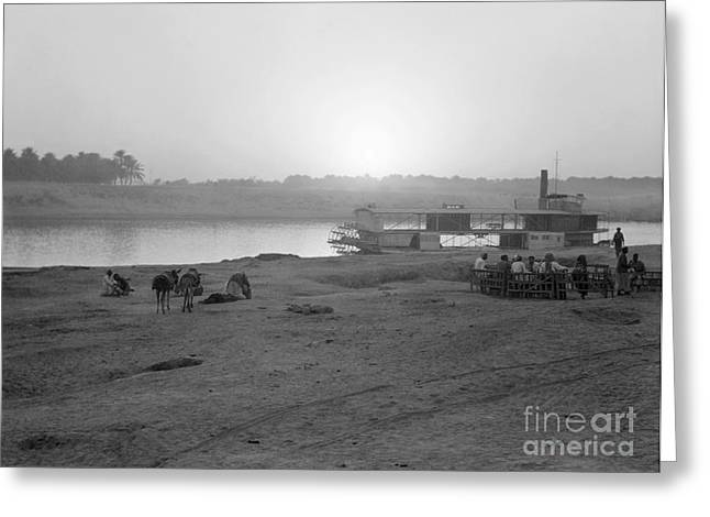Iraq Greeting Cards - Iraq: Sunset, 1932 Greeting Card by Granger