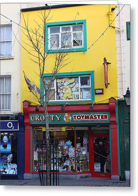 Best Sellers -  - Toy Shop Greeting Cards - Ireland Kilkenny 06 Greeting Card by Yvonne Ayoub