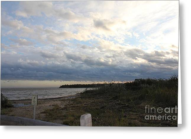 Setting Framed Prints Greeting Cards - Irenes Calm Greeting Card by Scenesational Photos