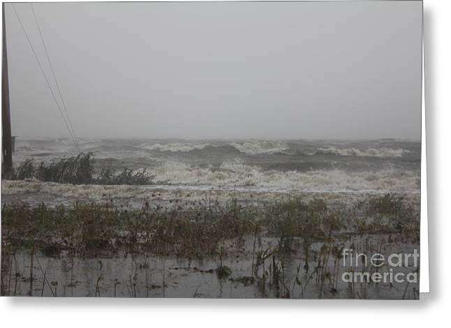Setting Framed Prints Greeting Cards - Irenes Fury Greeting Card by Scenesational Photos
