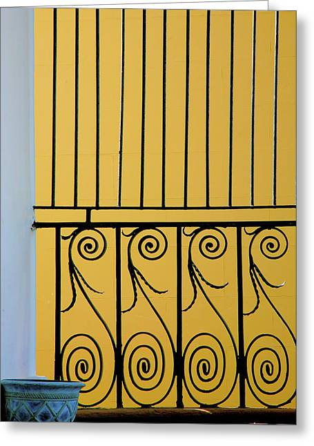 Entryway Greeting Cards - Ironwork Greeting Card by Steven Ainsworth