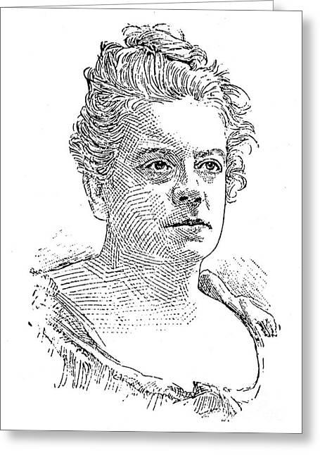 Isabel Florence Hapgood Greeting Card by Granger