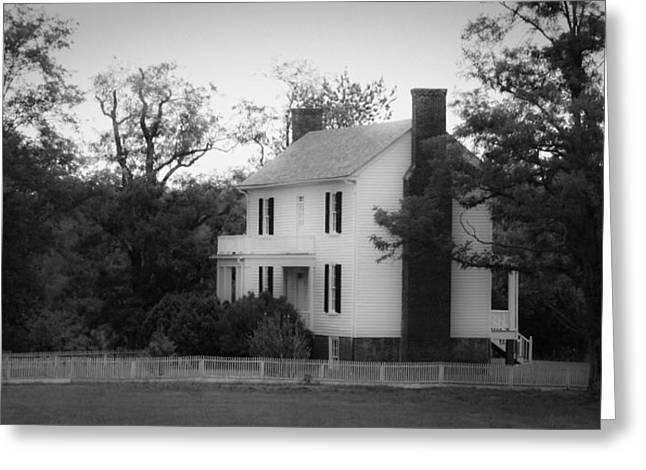 Isbell House Appomattox Virginia Greeting Card by Teresa Mucha
