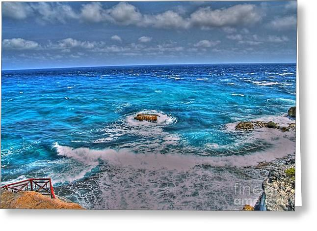 Shinny Greeting Cards - Isla Mujeres II Greeting Card by Jimmy Ostgard